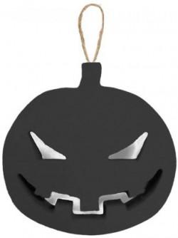 Декор злая Тыква большая черная