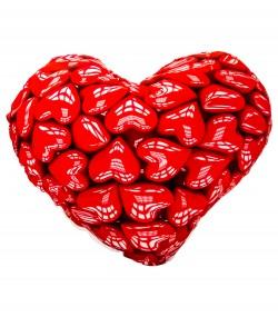 Подушка Сердце из сердец