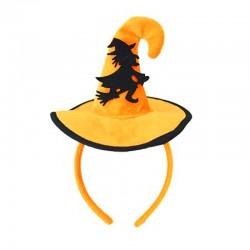 Шляпка на ободке Хэллоуин с Ведьмой