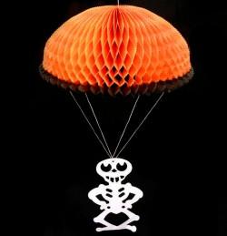 Подвеска Скелет на парашюте