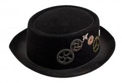 Шляпа Стимпанк с шестеренками