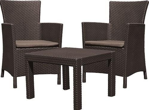 Набор мебели, Rosario balcony set, коричневый