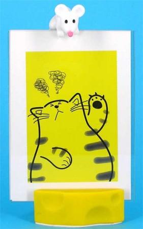 Мышка и кошка - фоторамка