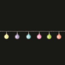 Гирлянда Мультицветные жемчужины 2,2 м