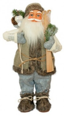 Фигурка новогодняя Санта Клаус, 60 см