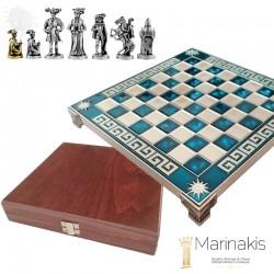 Шахматы Рококо-Средневековая Франция 20,5х20,5 см