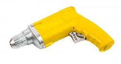 Зажигалка Дрель желтая