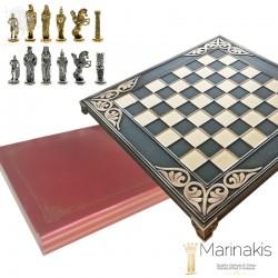 Шахматы Александр Великий 32х32 см