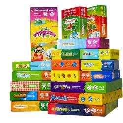Набор Всё и сразу, все 20 игр+ 4 подарочных коробочки