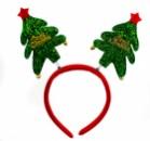 Антенки елочка на ободке Merry Christmas