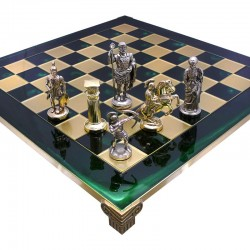 Шахматы Manopoulos Римляне 44х44 см Green