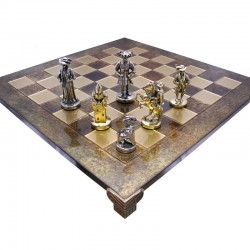 Шахматы Мушкетеры 44х44 см
