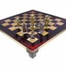 Шахматы Manopoulos Мушкетеры 44х44 см красные