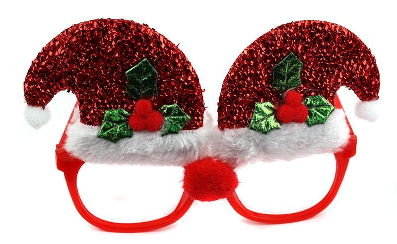 Новогодние очки Колпак
