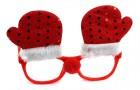 Новогодние очки Рукавичка