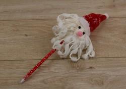 Новогодняя ручка Дед Мороз