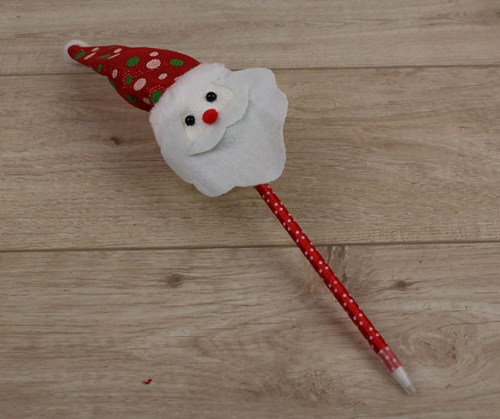 Новогодняя ручка Санта