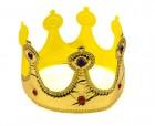Корона золотая мягкая