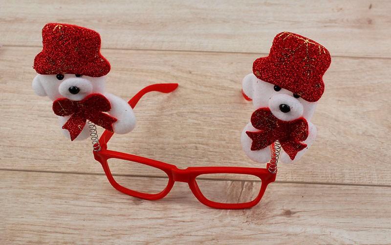 Новогодние очки Мишка