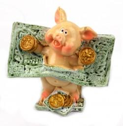 Поросенок с долларом