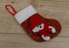 Новогодний носок Мишка