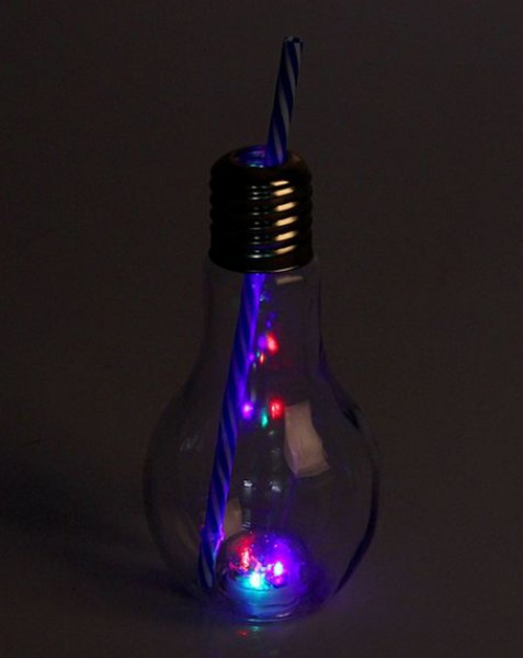 Бокал светящийся Лампочка