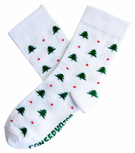Консерва-носок New Year socks ёлки