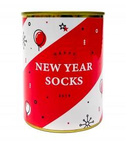 Консерва-носок New Year socks красные