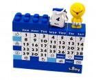 Календарь Конструктор синий
