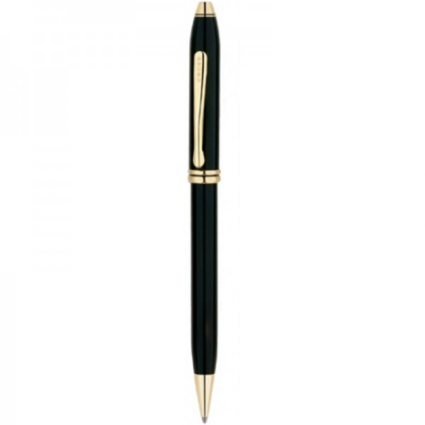 Шариковая ручка Cross Townsend Lacq. Black