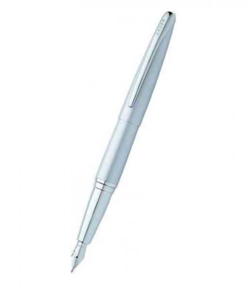 Ручка перьевая Cross ATX серебреная
