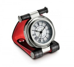 Часы дорожные Dalvey Travel черно-красные