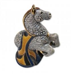 Фигурка De Rosa Rinconada Families Zodiac Конь серый