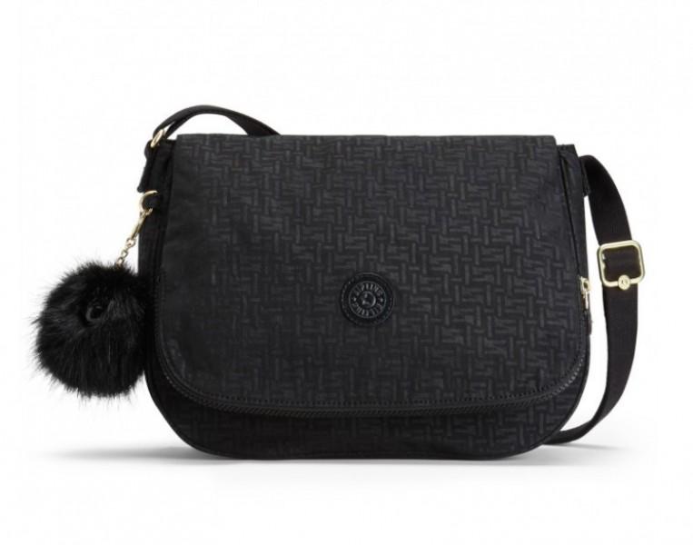 Женская сумка Kipling EARTHBEAT M/Black Pylon Emb