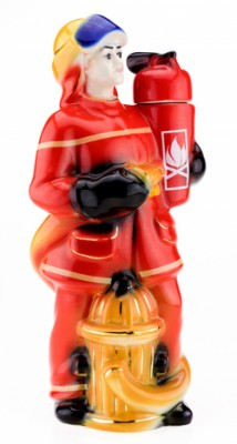 Штоф графин Пожарник