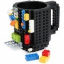 Кружка-конструктор Лего черная