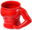 Кружка Бицепс красная
