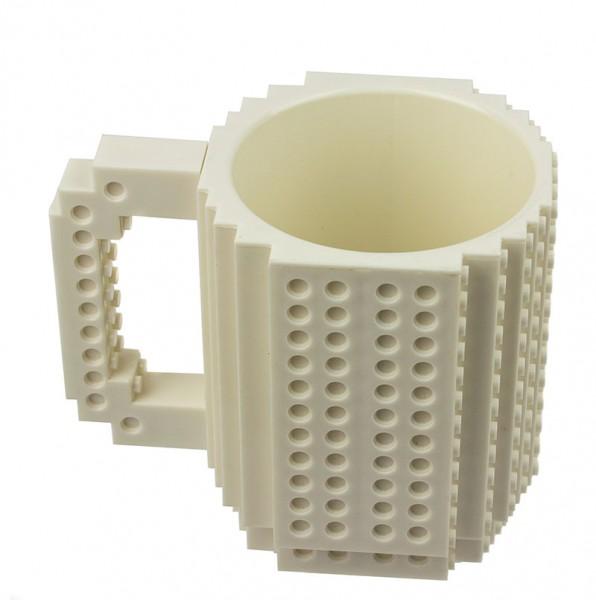 Кружка-конструктор LEGO белая