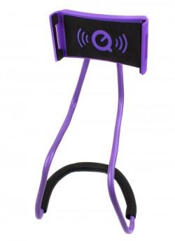 Держатель для телефона на шею фиолетовый