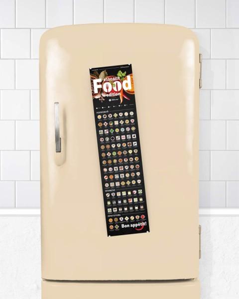 Скретч карта #100ДЕЛ FOOD edition