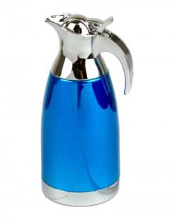 Зажигалка чайничек блестящий синий