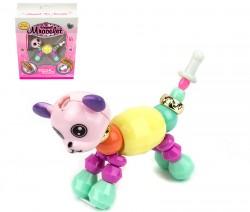 Магический браслет игрушка зверюшка Собачка матовый