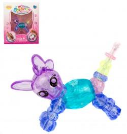Магический браслет игрушка зверюшка Оленёнок прозрачный