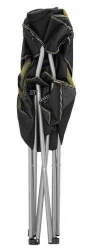 Кресло портативное ТЕ-15 SD черно-зеленое
