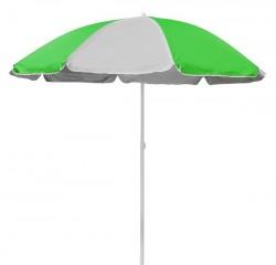 Садовый зонт TE-002 бело-зелёный