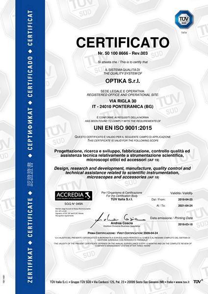 Микроскоп Optika B-383PLi 40x-1000x Trino Infinity