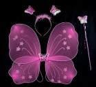 Набор бабочки розовый