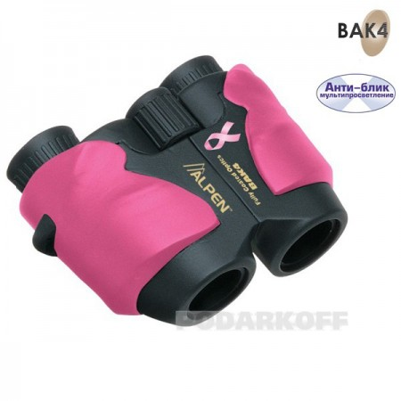 Бинокль Alpen Pink 8x25 Wide Angle 914778