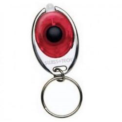 Брелок с фонариком Swiss+Tech красный