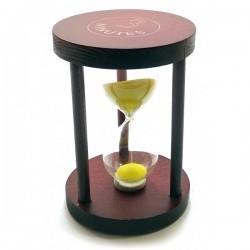 Часы Песочные 3 Мин Желтый Песок 7Х7Х10 см 32107C